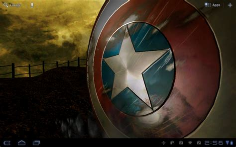 wallpaper captain america for android android wallpaper review captain america live wallpaper