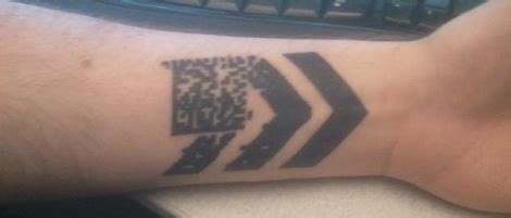 the barcode tattoo protagonist and antagonist barcode tattoos inspiring tattoos