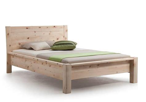 futonbett zirbe davos einzelbett doppelbett massivholzbett zirbe roh 90 x