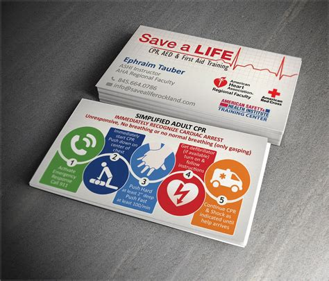 bls instructor card template cpr customizable business cards business