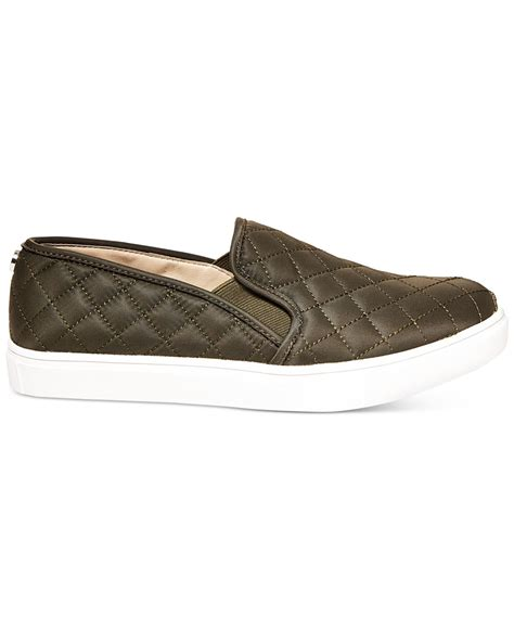 Steve Madden Ecentric Q Platform Sneakers by Steve Madden S Ecentric Q Platform Sneakers In Green Olive Lyst