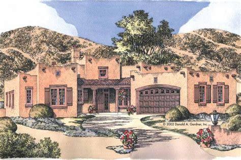 pueblo house plans home plan homepw07701 1883 square foot 3 bedroom 2