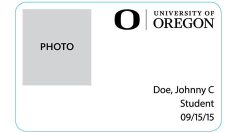 Oregon Id Card Template by What S In Your Wallet Next Fall Maybe Your Student Id