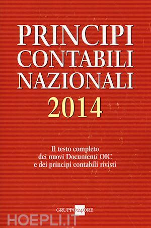 libreria il sole 24 ore principi contabili nazionali 2014 il sole 24 ore