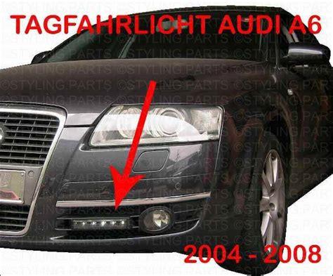 Schneeketten Audi A6 by Audi A6 C6 4f 04 08 Tagfahrlicht Daylight Taglicht Tfl