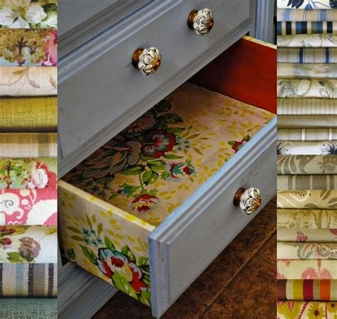 Decoupage Furniture With Fabric - creative decoupaging ideas for furniture