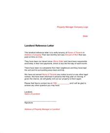Reference Letter From Employer For Tenancy Sle Landlord Recommendation Letter 7 Exles In