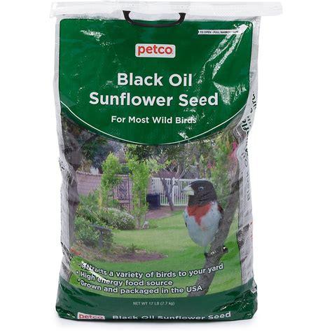 black sunflower seed bird food petco black sunflower seed bird food petco