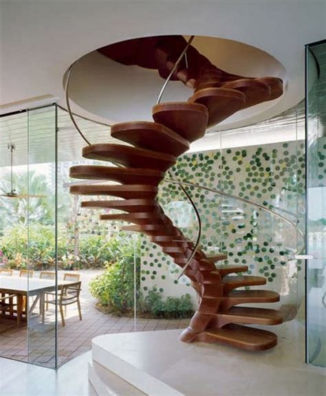 Wooden Spiral Staircase Plans Wood Spiral Stair Plans Indoor Living