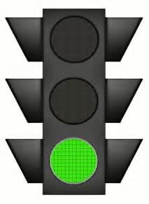 traffic signal large green travel large traffic