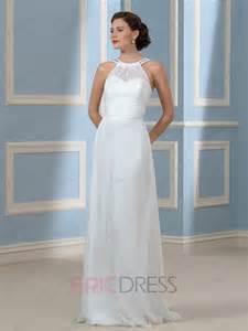 Comfortable Wedding Dress by Ericdress Comfortable Halter Beading Wedding Dress Wedding