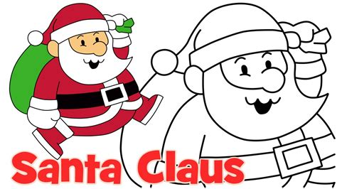 best drawi g of santa clause with chrisamas tree how to draw santa claus step by step easy drawing for