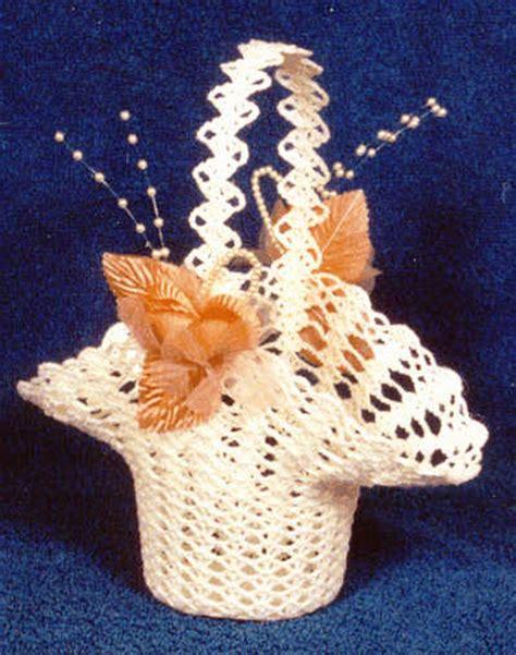 pattern flower girl basket crochet patterns crochet bridal wedding patterns