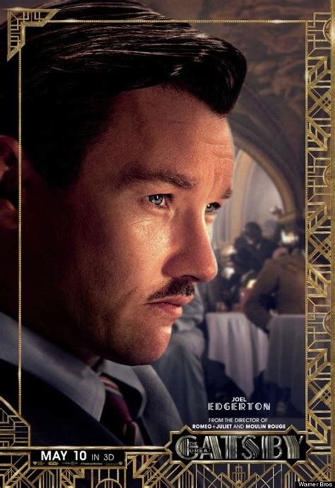 great gatsby character posters offer a close look at