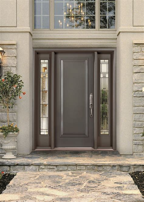 Entry Doors With Glass Stunning Steel Exterior Door Photos Front Steel Doors