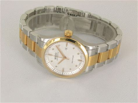 Rolex Stahlband Polieren by Mido Multifort Lady Stahl Ros 233 Gold Pvd Automatik Stahlband