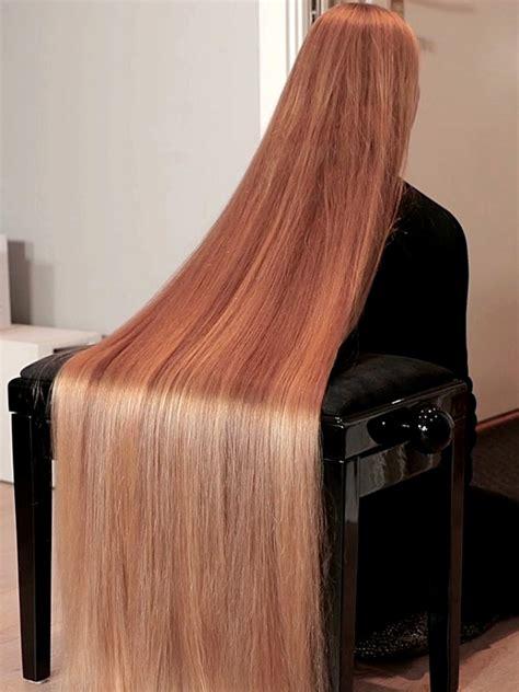video perfect long hair sliding realrapunzels