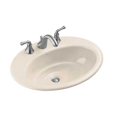shop kohler cast iron bathroom sink at lowes com