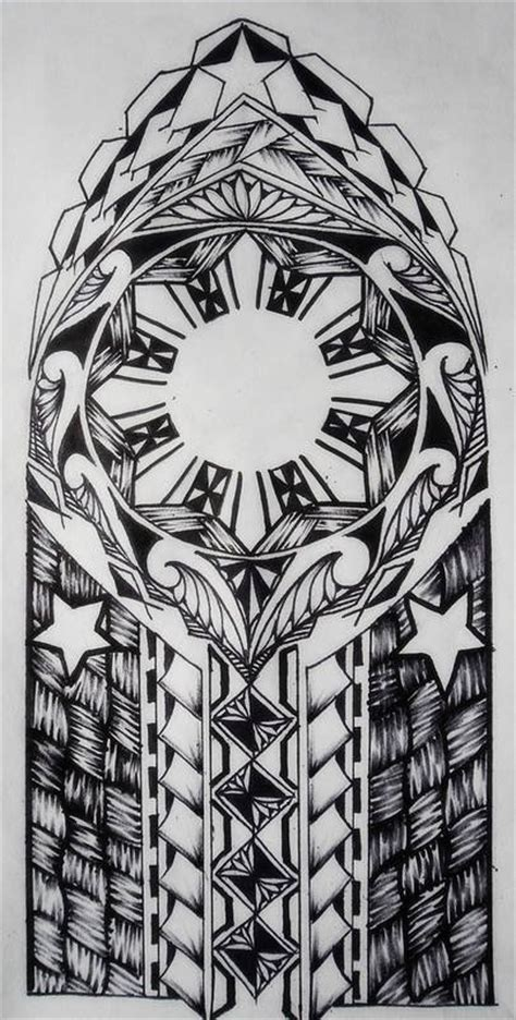 filipino tribal tattoo meaning family tribal by tpetelo on deviantart