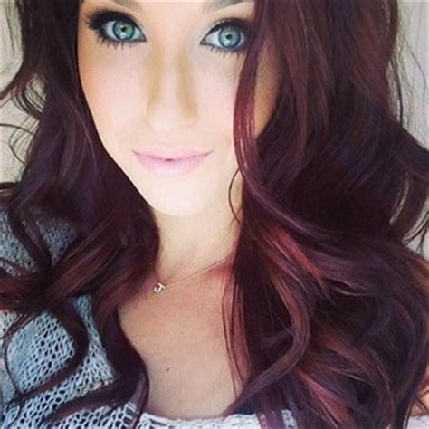 do any playboy models have burgundy hair burgundy hair yes or no beautylish