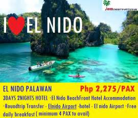 CheapTravelPh : El nido Palawan Package without Airfare