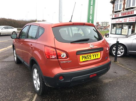 nissan orange used orange nissan qashqai for sale essex