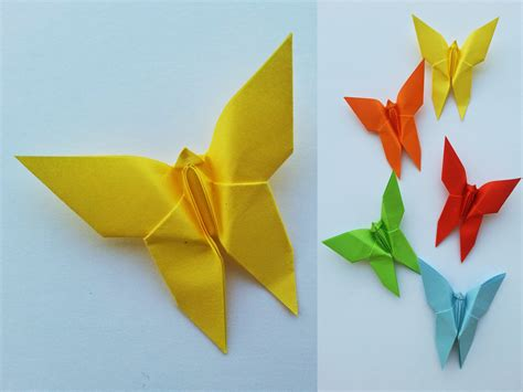 Decorative Origami - tutorial origami farfalle decorative