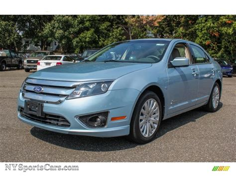 2010 ford fusion light 2010 ford fusion hybrid in light blue metallic