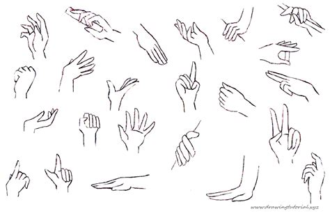 Anime Hand | how to draw anime hands holding something png 1400 215 925