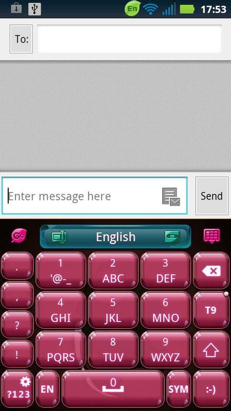 download themes of keyboard go keyboard easter theme free android theme download