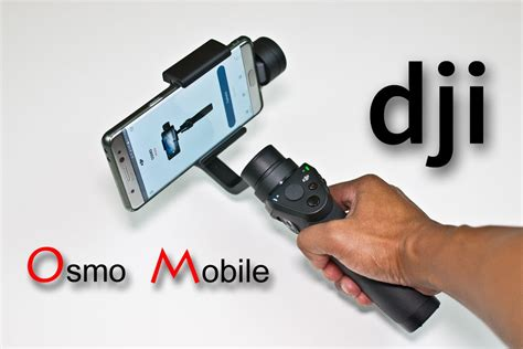 dji osmo mobile tripod extension rod note 7 unboxing review part 1 of 16
