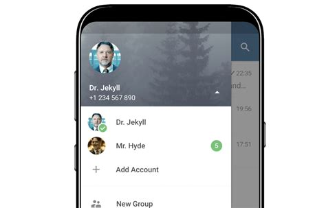telegram for android telegram for android now supports accounts ios users get a mode