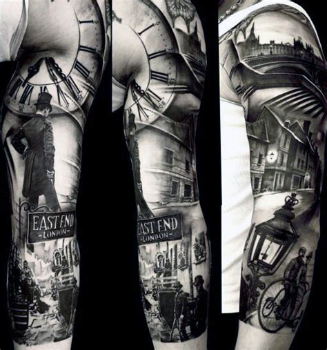 tattoo academy london 100 realistic tattoos for men realism design ideas