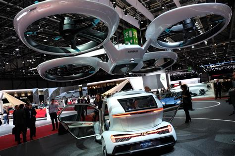 Audi Flying Car by Audi Gets In On The Flying Car With Airbus And