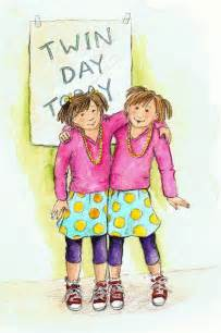 Twin day clip art spirit day twin day cubberley