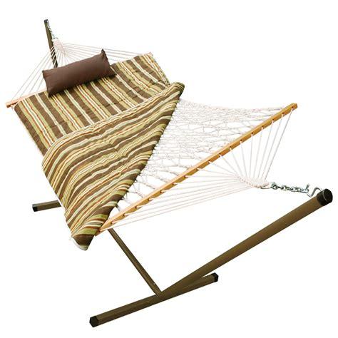 Hammock Pad Algoma Rope Hammock Stand Pad Pillow Combo