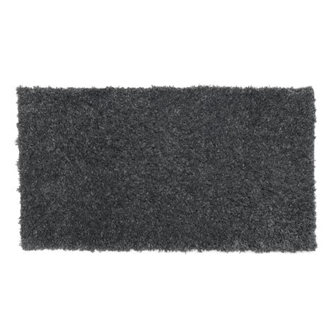 teddy rug wilko teddy rug grey 80x150cm at wilko