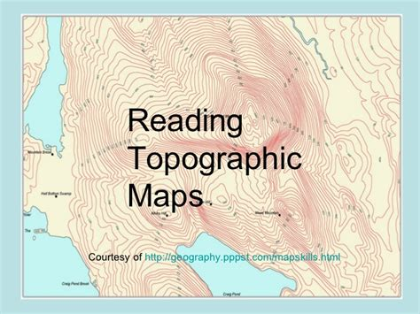 how to read a topographic map how to read topographic maps