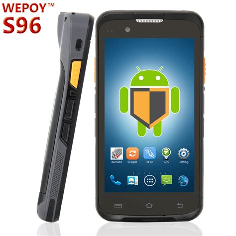 scanner for android 5 touch screen handheld android rugged pda barcode laser scanner buy android rugged pda