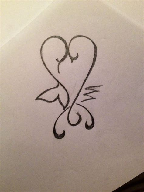 pisces and scorpio tattoo a drawing of a scorpio and pisces tat tattoos