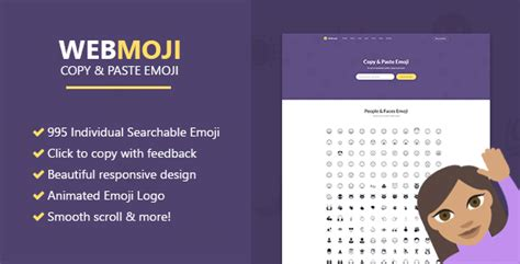 Webmoji Searchable Copy Paste Emoji Directory webmoji searchable copy paste emoji directory