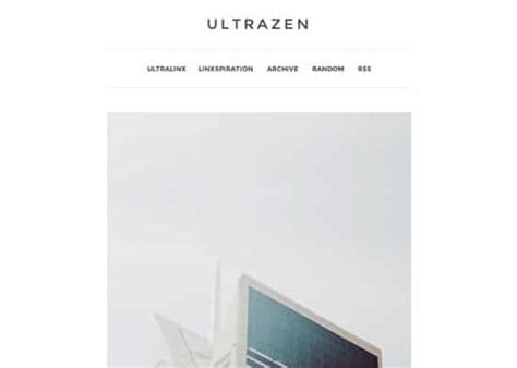 tumblr themes ultrazen 25 best and free tumblr themes 2017 minimal clean