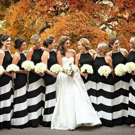 Flower Dress 12755 best 25 striped bridesmaid dresses ideas on