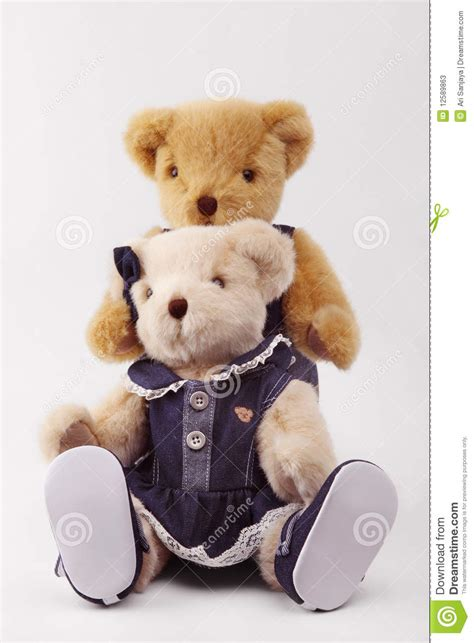 wallpaper of couple teddy bear couple of teddy bear stock image image of background