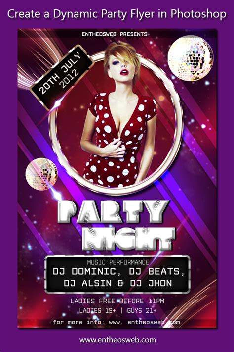flyer design tutorial photoshop cs6 learn how to create a dynamic party flyer in photoshop