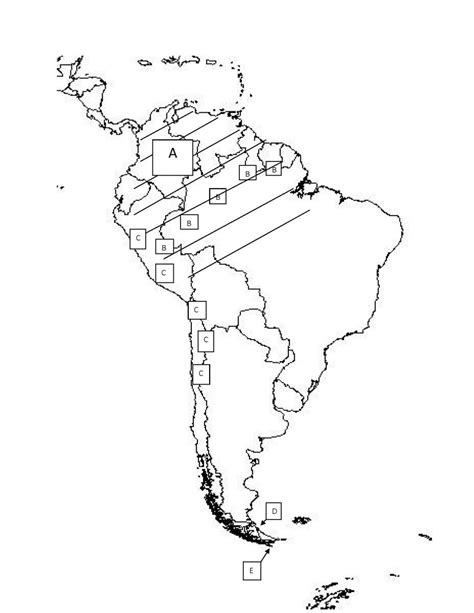 america geographical map quiz south america practice map test proprofs quiz