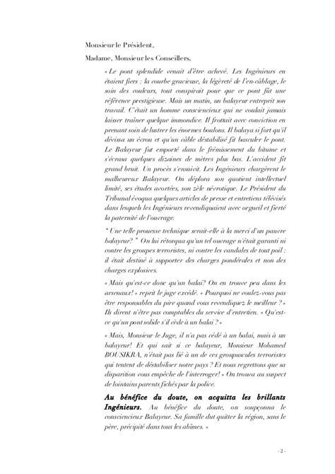 Modeles De Lettre Huissier Modele Une Note De Plaidoirie Document