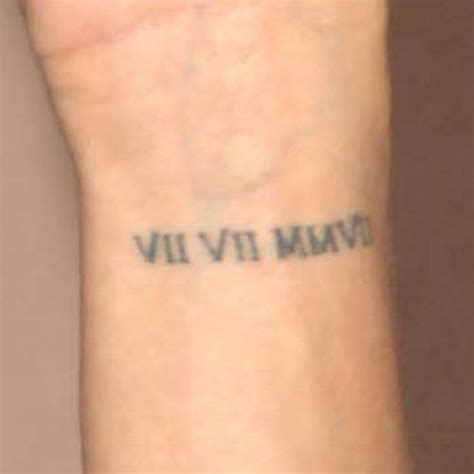 roman numeral tattoos wrist 30 cool numerals wrist tattoos