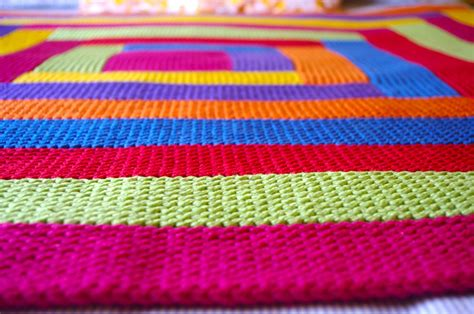 Boys Comforter Knitting Blankets And A Pattern For Mitred Squares Knit As