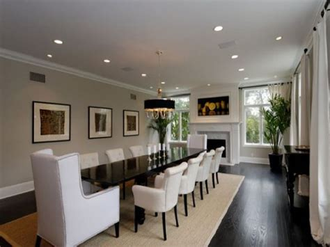 contemporary large dining room table  dream dining room